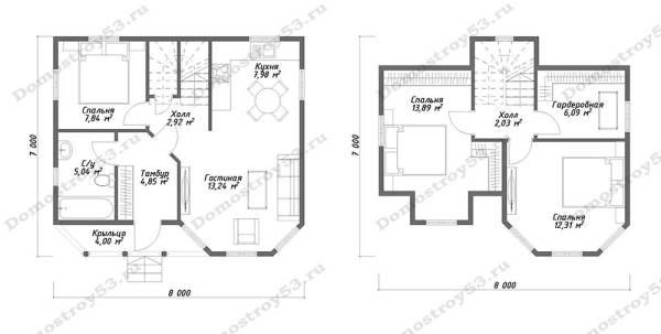 План дома Д-116