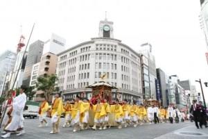 日枝神社山王祭2017の開催日や見どころやイベント内容は?