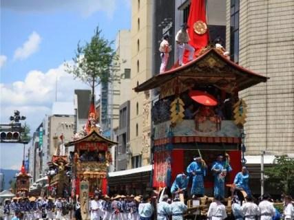 祇園祭2018の歩行者天国や宵山と巡行ルートは?