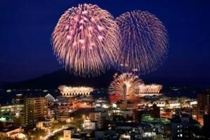 錦江湾サマーナイト花火大会2018穴場スポットと場所取り!