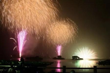 川越花火大会2016の会場はココ!駐車場や交通規制は?