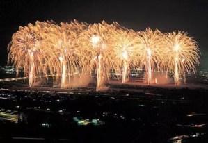 大井川花火大会の穴場スポット2017はココだ!場所は?
