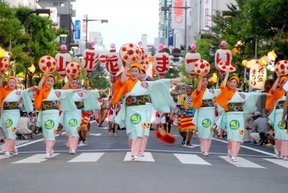 山形花笠まつり2017の会場と駐車場や交通規制のまとめ!