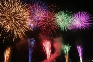 笛吹市石和温泉花火大会の穴場スポット2016と駐車場は?
