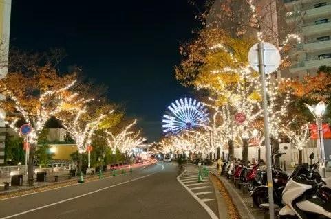 関西のクリスマスイルミネーション穴場スポット!デートはココ!