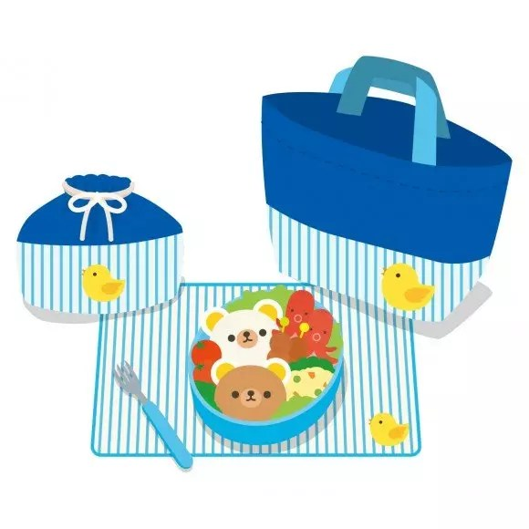 お弁当袋の簡単な作り方【裏地も手縫いで】裁縫初心者でも大丈夫!