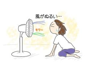 扇風機 回転数
