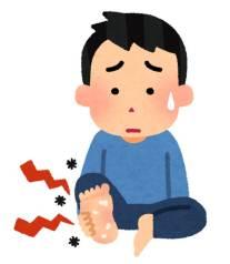 蚊に刺されやすい人 足