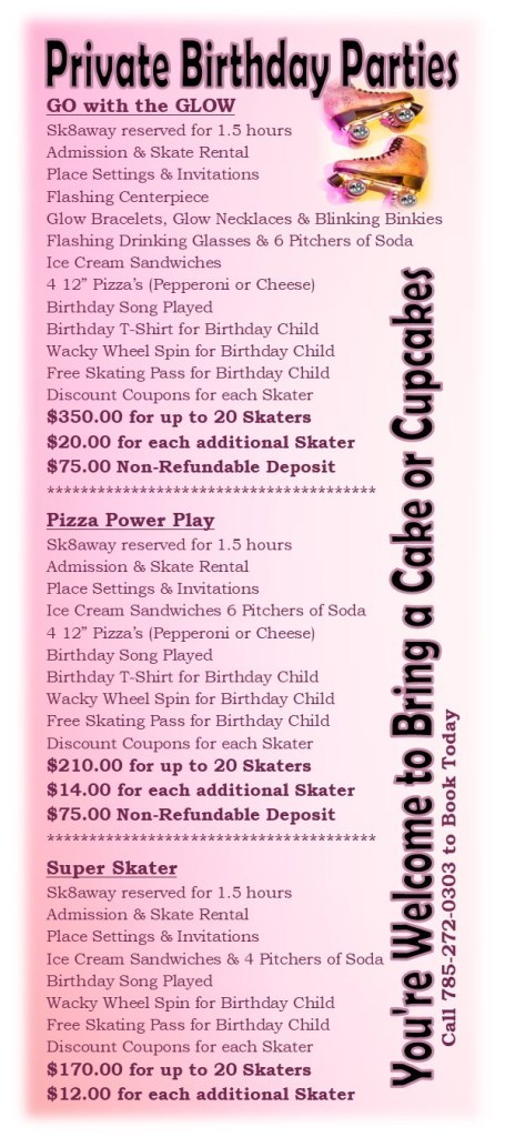 Birthday Parties - Private