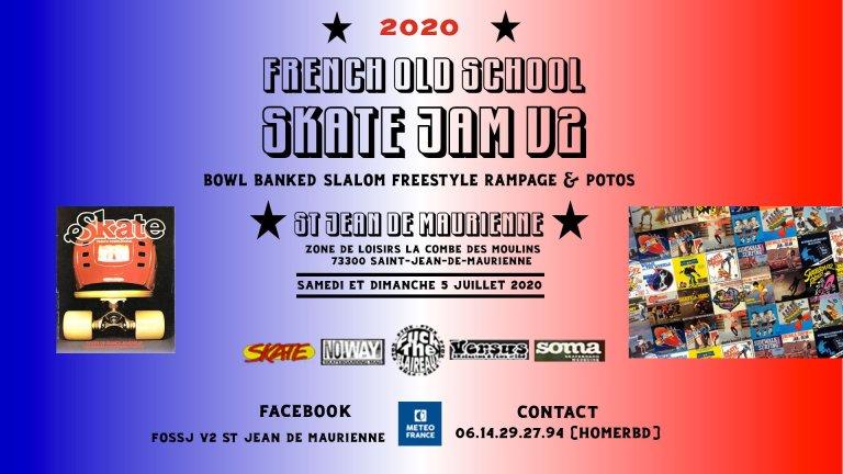 Read more about the article La french Old School Skate Jam de retour !