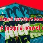 A partir de dimanche 15 mars Fermeture exceptionnelle du skatepark Laverdure jusqu'à nouvel ordre…