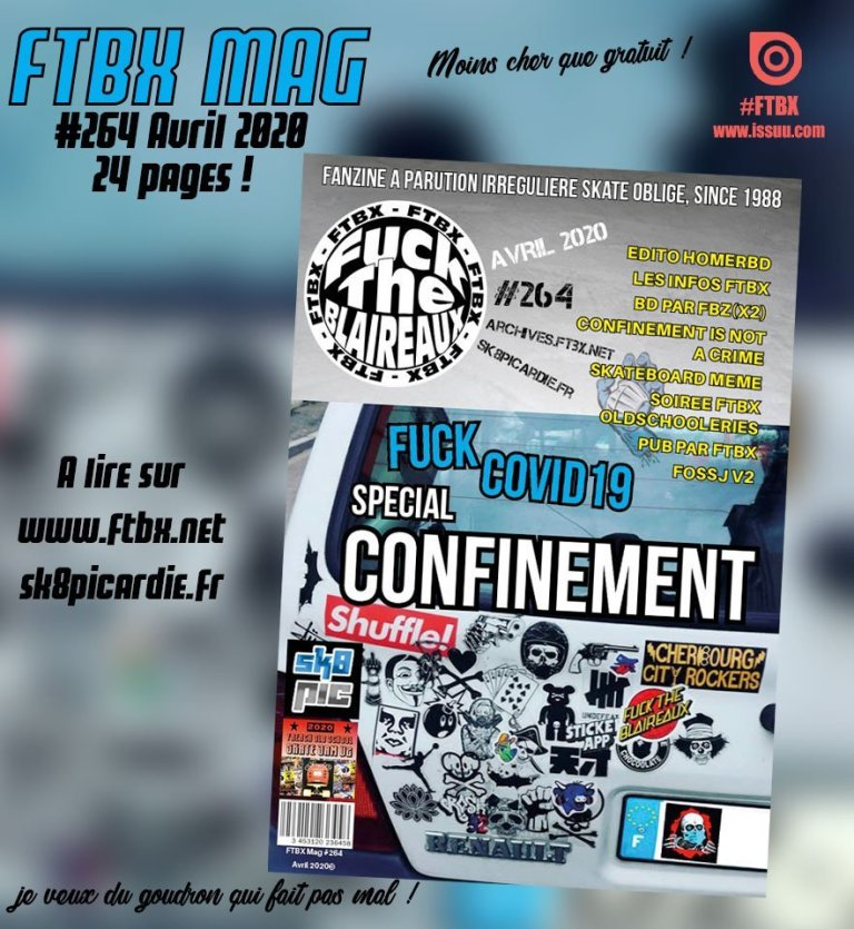 Read more about the article FTBX #264 'Confinement' Avril 2020