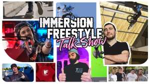 Talk show immersion freestyle
