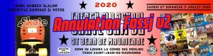 Annulation de la FOSSJ V2 (French Old School Skate Jam) juillet 2020