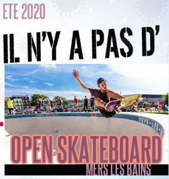 Read more about the article Eté 2020, pas d'Open de skateboard à Mers les Bains