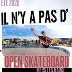 Eté 2020, pas d'Open de skateboard à Mers les Bains