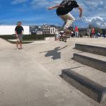Nathan du Banana Skate roule pour Le Petit Shop Unity