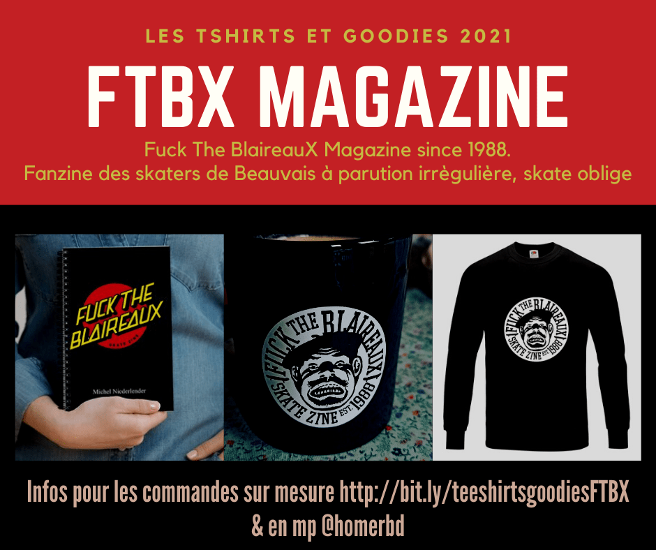 Pub teeshirts et goodies FTBX MAG 2021