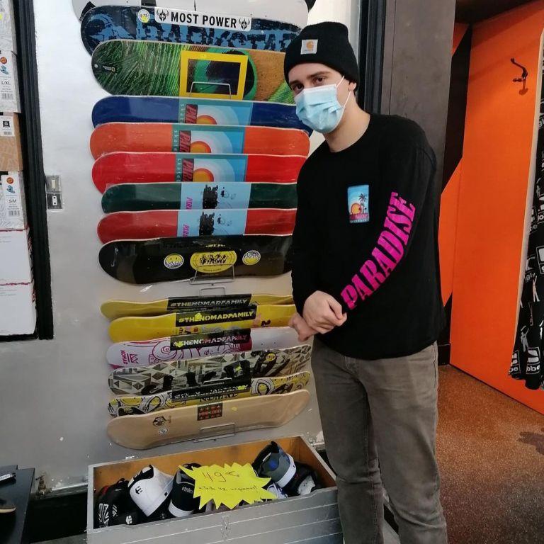 Read more about the article Un nouveau point de vente pour Paradise Skateboard