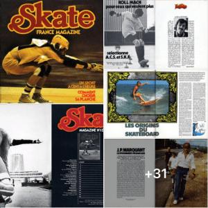 Read more about the article Skate France #1 le premier magazine de skateboard (déc. 1977)