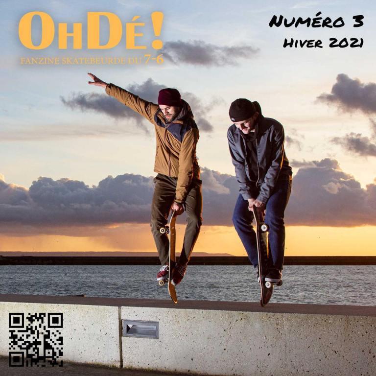 Read more about the article OHDE #3 Fanzine de skatebeurde normand