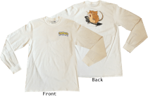 SK8RATS Raticate Long Sleeve T-Shirt Front and Back