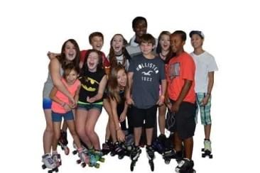 Kids on Roller Skates