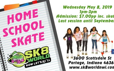 Home school Skating Session
