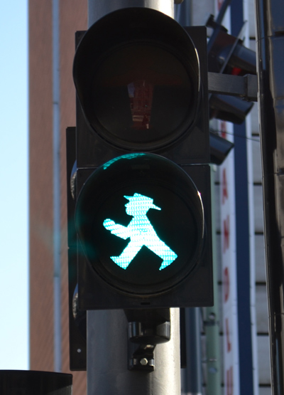 The Ampelmann Says Go Escape From Cube Land