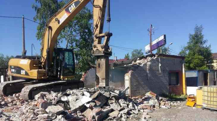 Снос зданий и демонтаж сооружений