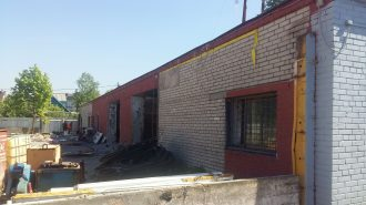 Демонтаж строения