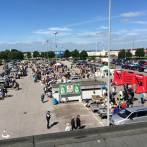 Tid til hyggeligt marked på A-Zs parkeringsplads