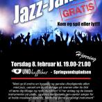 Jazz jam på UnoKaffebar i Hjørring