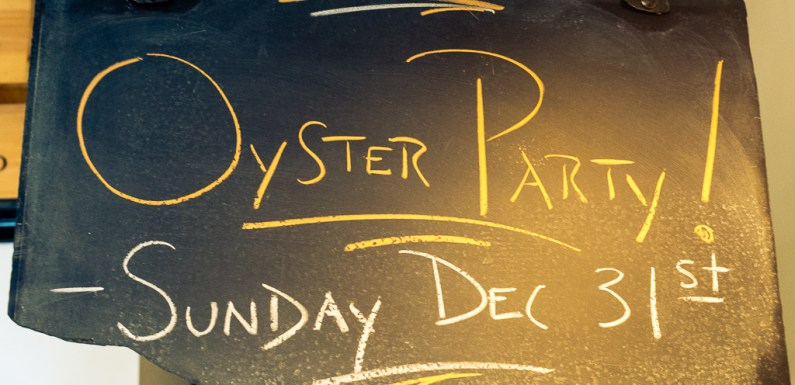 TASTING: Oyster Party at Slough Food