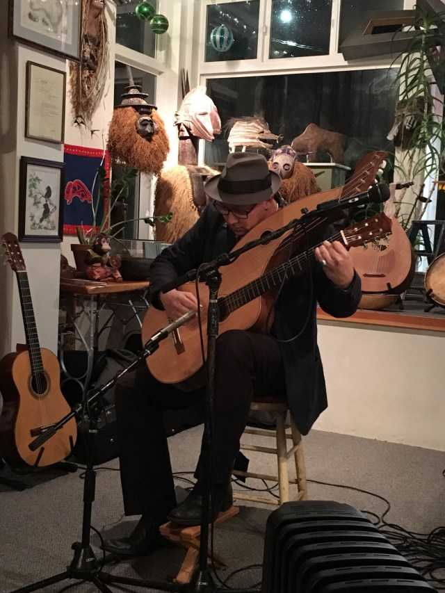 Skagit Art Music - The SAM Project Andre Feriante Cassera Art Lounge La Conner WA