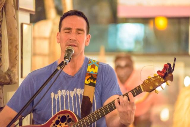Josh Clauson performs