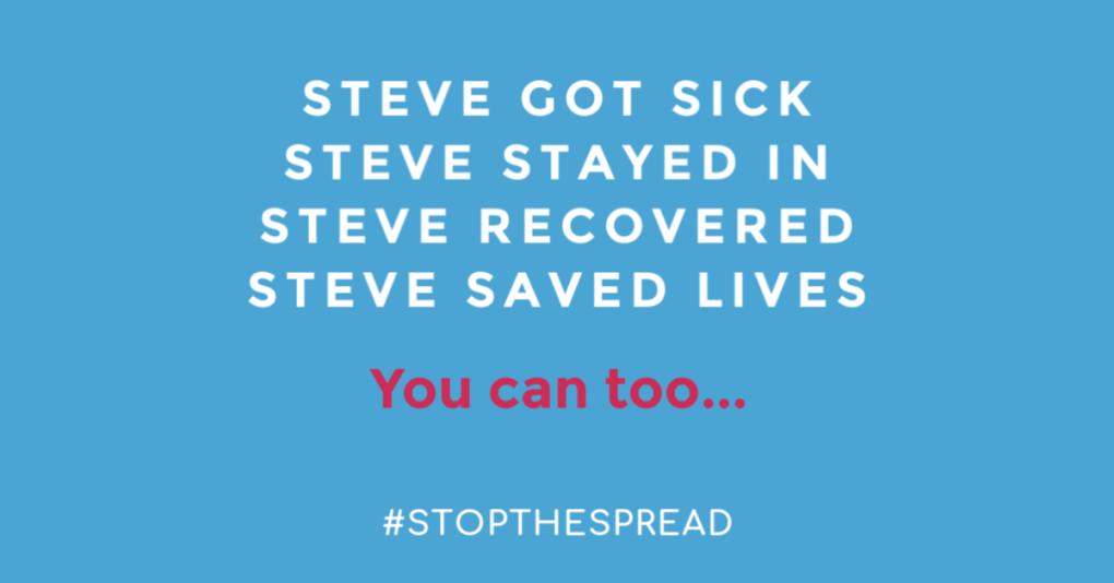 Steve saved lives.