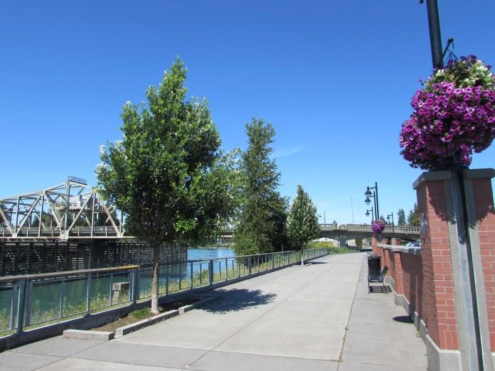 Family Friendly bike ride Skagit County Skagit Riverwalk