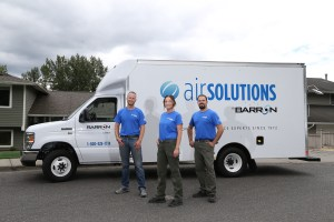 Barron Heating Building Science Air Solutions Crew