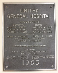 PeaceHealth-United-General-History-Plaque