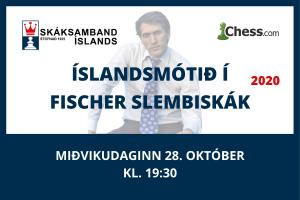 Íslandsmótið í Fischer-slembiskák @ Chess.com