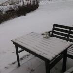 Snö kom idag! Rimtursar kläder världen.