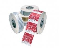 Label – Direkte Termo, Premium, Labels På Rulle, Termopapir, Kasse M/ 4 Ruller – (BxH) 102x76mm