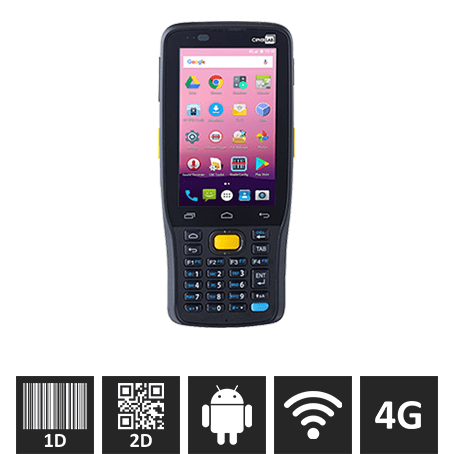 CipherLAB RK25, 28-taster, Android 7, 2D Scanner GMS