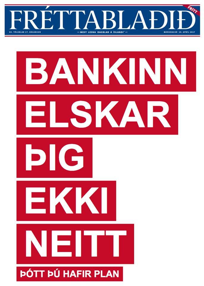"""Íslandsbanki fær það óþvegið frá viðskiptavinum vegna herferðarinar """"Það er hægt"""""""