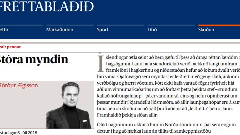 Jarðtenging eða auðvaldstenging?