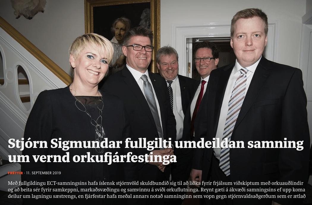 Gunnar Bragi og ríkisstjórn Simma hinir raunverulegu landráðamenn?