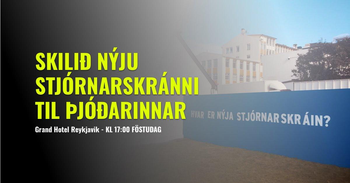 Boðað til mótmæla við Grand Hotel Reykjavík