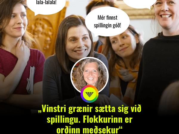 Stefnum í annað efnahagshrun undir stjórn VG