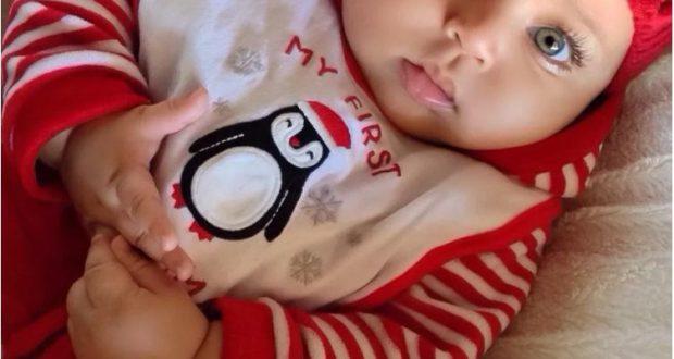 Помните ли бебето с безкрайно дългите мигли? Ето как изглежда 4 години по-късно (Снимки)